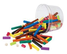 Cuisenaire Rods.  Must have math manipulative