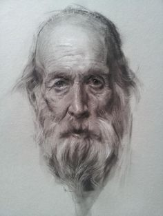 Portrait by Jeff Hein, charcoal, Salt Lake City, Utah, Professional artist