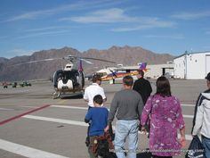 Tips on understanding and dealing with Grand Canyon helicopter surcharges from Las Vegas and Tusayan, AZ (South Rim).