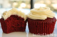 Haven't tried making red velvet cupcakes in awhile - this looks like a great recipe, however...