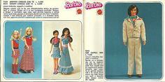 Booklet Barbie 1977 Italy pagg 9-10
