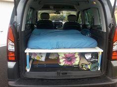 Aménagement d'une voiture en camping car