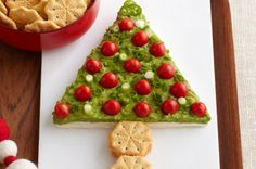 Discover one of the best and brightest guacamole dips you'll ever make. This guacamole recipe uses fresh lime juice and ripe avocados! Kraft Foods, Kraft Recipes, Christmas Countdown, Christmas Treats, Christmas Cookies, Christmas Holidays, Xmas, Mexican Christmas, Snowman Cookies