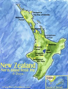 New Zealand North Island Road Trip Itinerary