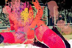 Creation numérique sur Aluminium Erotique Sexy signé Nea Borgel Artprice Brut