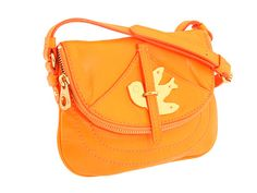 Marc by Marc Jacobs Petal to the Metal Flap in Orange