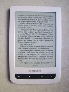 PocketBook Touch Lux 3 Touch, Reading