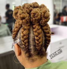Crown Updo with Upside Down Braids Best Braid Styles, French Braid Styles, French Braid Updo, Twist Styles, Ponytail Styles, Braided Hairstyles Updo, African Braids Hairstyles, Braided Ponytail, Natural Hairstyles