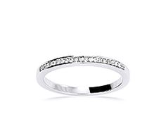 18K white, 21 is 0.09 ct, 344 EUR