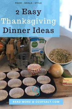 Thanksgiving is a time to enjoy a family meal together with gratitude. With our current situation, we would opt for a COVID friendly dinner preparation. Check this blog to learn more about 2 easy Thanksgiving Dinner ideas that would impress your guest this year! #thanksgivingdinner #ounceofsalt #thanksgivingdinnerideas #easythanksgivingideas Easy Thanksgiving Dinner, Thanksgiving Wishes, Easy One Pot Meals, Easy Weeknight Dinners, Delicious Recipes, Healthy Dinner Recipes, Yummy Food, Organic Chicken, How To Cook Sausage