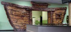 Ideas para decorar la Escuelita Bíblica de Vacaciones - Tema El Arca de Noé (entrada)