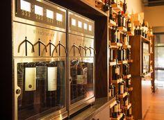 8 bottle Installation at Bella Monte Restaurant.