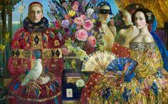 Pinzellades al món: Arlequins: il·lustracions d'Olga Suvorova