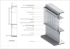 DATA[architectes] Strong relationship between Axon section and detail drawing with text functioning as a connection between the two. Consider relationships between the two elements!