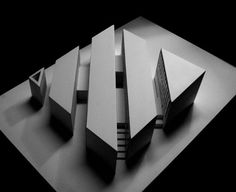 [A3N] : Villa in Ordos, Inner Mongolia 1/100 model (conceptual design)