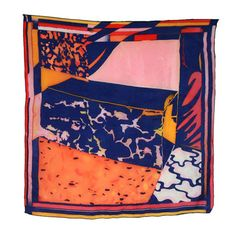 """youtreau: """" This is a fabulous colorful scarf collection by artist & designer Killian Loddo. Take a look at much more nice things in his portfolio """""""
