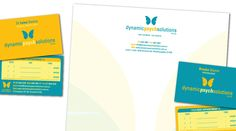 Dynamic Psych Solutions - Collaterals Created: Identity, Graphic Design, Business Cards, Letterheads, Signage, Stickers, Website