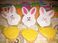 Easter Cookies ~ Fig Tales
