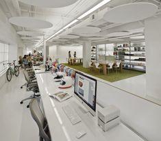 Ammunition's SF Design Studio: http://officesnapshots.com/2014/10/20/ammunition-san-francisco-offices/
