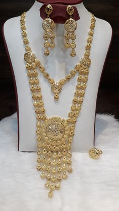 Arabic Jewelry, Gold Jewellery, Bridal Jewelry, Gold Jewelry Simple, Simple Necklace, Gold Necklace, Bridal Jewellery Inspiration, Long Necklaces, Henna Designs