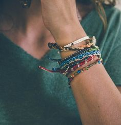 The set of bracelets tells a story of the creation of the Earth. Earth bracelet…
