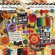 Color Outside The Lines by Kristin Cronin-Barrow. $6.99