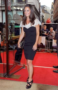 Pippa Middleton spotted in this Alice by Temperley 'Ruby' Dress while attending The UK Film Premiere of Shadow Dancer at Cineworld Haymarket on August 13, 2012 in London, England