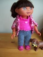 Knitting Pattern For Dora The Explorer Doll : 1000+ images about Dora and Boots Patterns on Pinterest Dora the explorer, ...