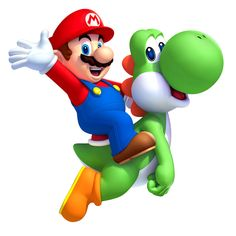 Mario riding Yoshi in the Wii U game New Super Mario Bros U Bolo Super Mario, New Super Mario Bros, Super Mario Games, Super Mario Brothers, Super Smash Bros, Super Mario Kart, Yoshi Costume, Mario E Luigi, Mario Birthday Party