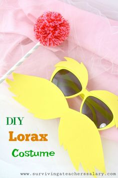 Diy lorax costume pinterest diy costumes lorax and costumes how to make your own diy dr seuss inspired lorax costume tutorial solutioingenieria Choice Image