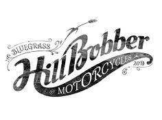 Bluegrass Hill Bobber Motorcycles Logo Design By - MartinHofmann.com…