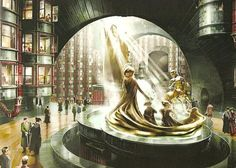 Ministry of Magic Concept Artwork for HP5