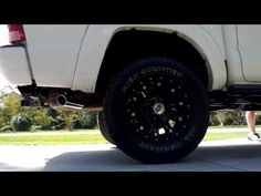 2008 Tacoma 4.0 exhaust flow master 40 - YouTube
