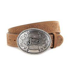 dcf0e35b01f540 Justin Belts JUSTIN TROPHY 242CG Grizzly Westerngürtel - braun | Klassicher  Damen und Herren Ledergürtel im