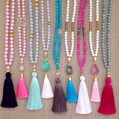 Love's Affect Spring Necklaces by LovesAffect on Etsy