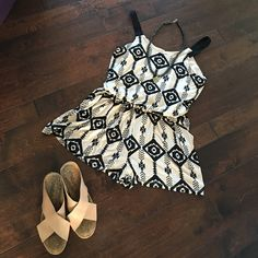 Hello Summer! ☀️NWT Tribal Print Jumper Cool, comphy, & chic. Start the summer off right with this cute jumper! NEW WITH TAGS! Xhilaration Other