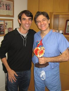 My buddy Dr. Oz. Download my all-new FREE women's easy diet at http://JorgeCruise.com