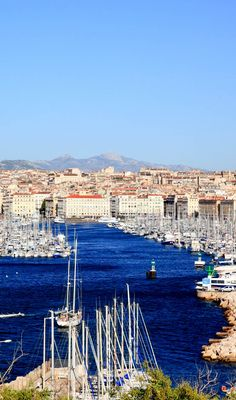Stunning view of Marseille City and its harbor, France | 17 Reasons why Magnifique France is the most Visited Country in the World
