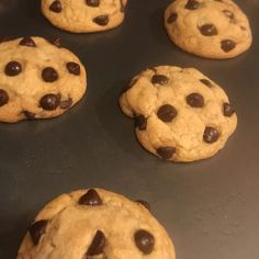 Crisp edges, chewy middles, and so, so easy to make. Try this wildly-popular chocolate chip cookie recipe for yourself. Chocolate Chip Cookies Allrecipes, Chip Cookie Recipe, Chocolate Chip Recipes, Peanut Butter Cookies, Sugar Cookies, Cookie Recipes, Chocolate Chips, Vegetarian Chocolate, Eat