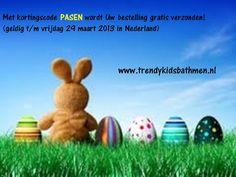 Met kortingscode PASEN wordt Uw bestelling gratis verzonden!   www.trendykidsbathmen.nl de webshop voor trendy en betaalbare kinderkleding.