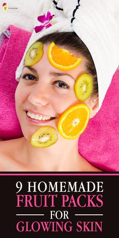 Homemade Fruit Packs For #GlowingSkin: Fruit facials boost your skin with natural goodness, and also help you do away with harmful, chemical-induced facials,which definitely give you the desired results, but leave their trail behind on your skin.