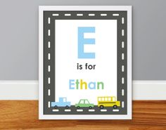 Children's Wall Art Nursery Decor Personalized by DaraLynnDesigns, $10.00