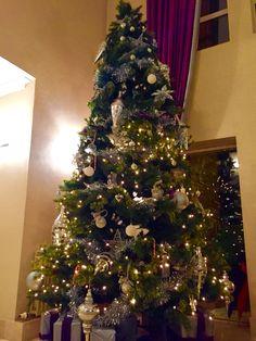 Christmas tree in Wilton Hotel, Bray, County Wicklow Christmas In Ireland, Christmas Tree, Irish, Holiday Decor, Home Decor, Teal Christmas Tree, Decoration Home, Irish Language, Room Decor