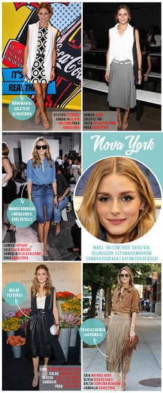 Fashion weeks com Olivia Palermo: os looks da it girl na temporada S/S 15!