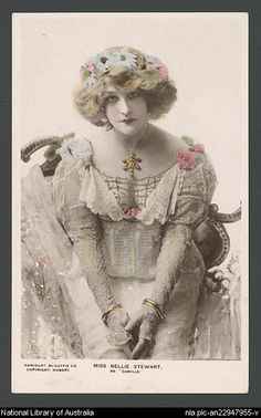 Miss Nellie Stewart as Camille Vintage Photographs, Vintage Photos, Belle Epoch, Research Images, Female Photographers, Storytelling, Actors & Actresses, Postcards, Theatre