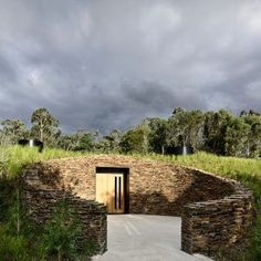 Kerstin Thompson adds intimate underground tasting room to YarraWarra winery in Victoria's Yarra Valley