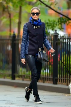 Olivia Palermo Casual Winter Look