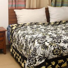 Indian Handmade Bed Linen - Buy Bed Linen Online Buy Indian handmade bed linen and bed sheets online from Indian August.