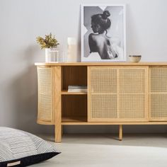 Come home to a hallway that's beautiful and light. The Cane console has all the storage needs and is made of natural materials. Bring home the nature with our Cane console. Rattan Furniture, Home Furniture, Furniture Design, Find Furniture, Interior Design Living Room, Living Room Decor, Living Spaces, Japanese Interior, Catalogue