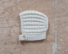 knit bonnet for babies baby boy hat baby girl bonnet hand